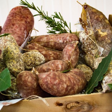 "PACKAGE ""TASTING OF SALAMI"""